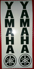 2 x Yamaha Fork R1 R6 R125 Fazer etc Motorcycle/Motorcross Vinyl Sticker Decals