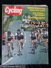 CYCLING - HALFORDS INTERNATIONAL CYCLO CROSS - DEC 3 1983