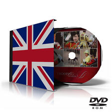 GREAT BRITAIN STAMP ALBUM PAGES DVD 1840-2011 (343 color illustrated pages)