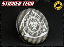 RE AMEMIYA ROTARY CARBON FIBRE BADGE STICKER DECAL EMBLEM RX7 RX3 RX8 13B CX5