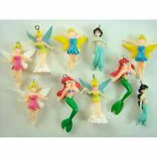 10 pcs Tinkerbell Fairy Colorful DIY Jewelry Making Figure Pendant Charm + CHARM