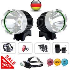 6000Lumen CREE T6 LED Fahrradlampe Scheinwerfer head kopflamp Akkupack bikelight