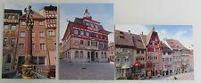 3x STEIN am Rhein Kanton Schaffhausen Schweiz color Postkarten Lot ungelaufen