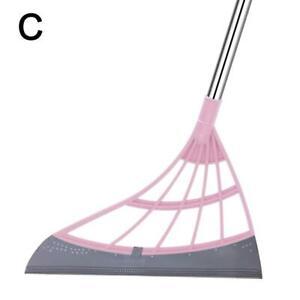 Multifunction Broom Hair Sweeping Scrape Sweeper Home Tools
