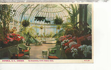 The conservatory  Empress Hotel  Victoria B C  Canada  Mailed 1951 Postcard 1177