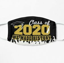 Class of 2020 Face Mask Covering - Graduation Class Face Mask