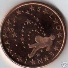Slovenië  2007    5 cent    UNC uit de rol    UNC du rouleaux !!!