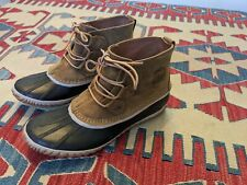 Sorel Out N About Leather Snow Boot Women'S Us 9.5 Waterproof #Nl2133-286 $115