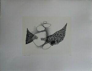 Luigi Veronesi litografia Composizione N 1 70x50 1961/1976 firmata numerata