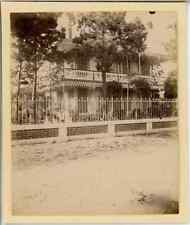 France, Soulac sur Mer (Gironde), Villa Aimée  Vintage citrate print. Vintage Fr