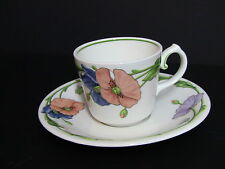 Villeroy & Boch AMAPOLA Cups and Saucers / Set of 6