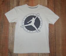 Nike Air Jordan Flight Club Shirt Men's Size Small White Cotton
