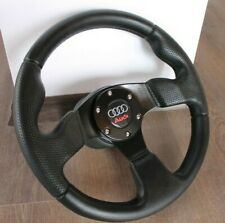 Audi Perforated Leather Steering Wheel Racing 80 90 100 200 B3 B4 S2 RS2 Sport