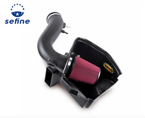 AIRAID Red Cold Air Intake Performance Kit For 2011-2014 Ford Mustang 3.7L V6