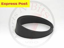 VDO 52mm BLACK SOFT PLASTIC ANGLED SPACER RING TO SUIT SINGLE GAUGE