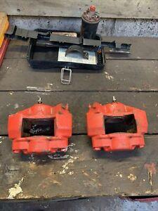 "Mini Classic Brake Calipers pair AP Austin Rover callipers 8.4"" disc 12 inch whe"