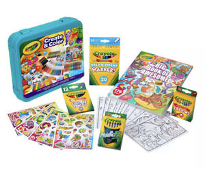 Crayola Epic Create & Color Art Case 75 Pieces Boys and Girls Ages 5+ Child