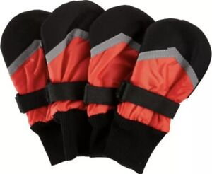 """Fashion Pet Extreme All-Weather Dog Boots - Small/Petite 3-1/4"""" Paw Protection"""