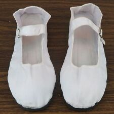 Women's Chinese Mary Jane Cotton Shoes Slippers White Green Blue Sizes 36-42 New