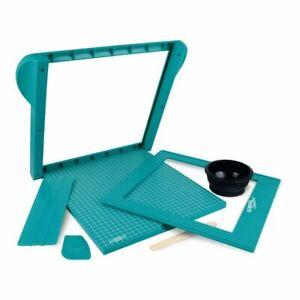 Screen Sensation 12 x 12 Starter KIt - Papercraft & Textile Screen Printing Set