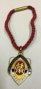 Vintage Melbourne Cricket Club Emanel Membership Medallion 1947-48