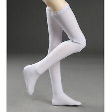Dollmore 1/4 BJD Socks MSD - Long Solid Stockings (White)