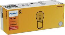 10PCS of Philips Bulb indicator 12496NACP 12V 21W PY21W Signal Light Amber U3