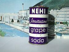 NEHI IMITATION GRAPE SODA FLAT TOP CAN