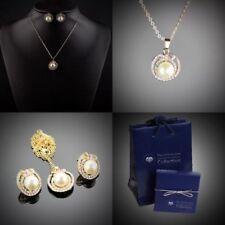 Natürliche Modeschmuck-Sets mit Perle