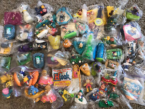 Mcdonalds happy meal toys Burger King, Large Lot Late 80's Early 90's Vintage