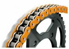 Chaînes orange pour motocyclette