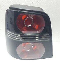 VW Touran 2007 - 2010 Black Rear Tail Light Lamp Passenger Left Near Side New