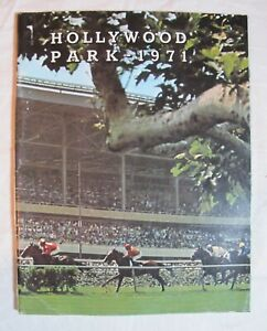 1971 HOLLYWOOD PARK HORSE RACE RACING TRADE YEARBOOK CHAMPION BILL SHOEMAKER