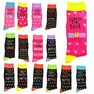 Simply The Best Socks Birthday Christmas Mothers Day Fathers 13 16 18 Gifts