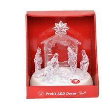 Christmas Nativity Set LED Light Up Music Xmas Home Decor Decoration Novelty