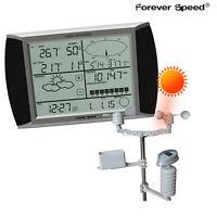 Solaire Station météo WS1080 USB écran tactile vent pluie Baromètre GRATUIT