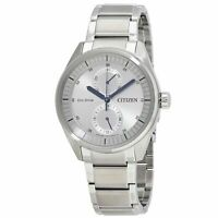 Citizen BU3010-51H Men's Paradex Silver Eco-Drive Watch