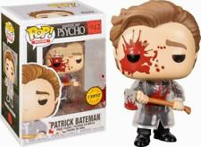 Funko Pop Chase American Psycho Patrick Bateman (Bloody) Figure w/ Protector