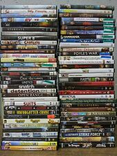 60 Dvd Lot - Bulk Wholesale Used Dvd Movies - Assorted Genres