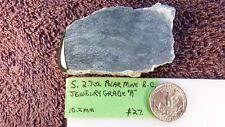 T - Polar Mine, British Columbia Jade Slab 4.9 oz.- 9.6 mm thick