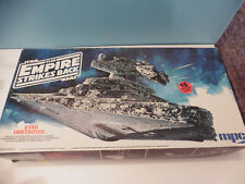 1980 star wars ship model kit star destroyer mpc 15 inches long