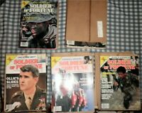 "Lot 42 ""Soldier Of Fortune"" Magazines 1985,1986,1987,1988,1989,Oliver North"