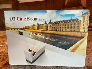 LG HF85LA Cine Beam Laser 4K Ultra Short Throw DLP Stereo Projector -White