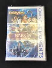 Eragon / Chronicles of Narnia The Voyage The Dawn Treader / Percy Jackson 3 Dvd