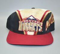 Denver Nuggets Vintage Twins Enterprise Side Spell Out Snapback Cap Hat - NWT