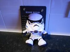 STAR WARS COLLECTABLE STOOM TROOPER SOFT TOY