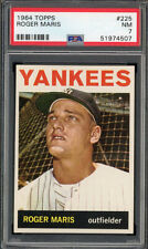 1964 Topps Roger Maris #225 PSA 7 Graded: 12/08/20
