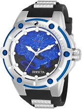 INVICTA   Speedway Stainless Steel Automatic Watch w/Black Strap   Model: 25778