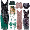 Mother Day Dress Vintage Retro Style 1920s Flapper Dress 20s Evening Gowns Party