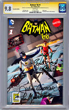 BATMAN '66 #1 CGC-SS 9.8 SIGNED BY BURT WARD JULIE NEWMAR LEE MERIWETHER 2013